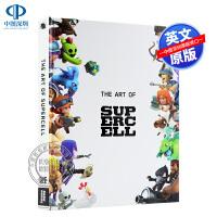 英文原版 超级细胞工作室 游戏艺术设定集10周年纪念版 精装 The Art of Supercell: 10th An