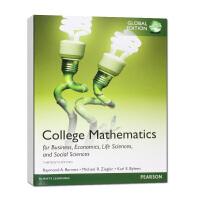 学院商业数学,经济学,生命科学和社会科学,全球版