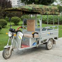 电动三轮车车棚遮阳棚挡雨棚方管折叠全封闭三轮车棚篷雨棚