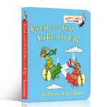 【顺丰包邮】英文原版绘本 Fred and Ted Like to Fly 彼得・伊士曼苏斯博士系列 Peter Ea