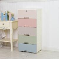 加厚收纳柜塑料抽屉式卧室多功能衣物自由组合置物简易整理储物柜