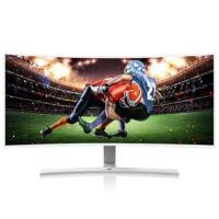优派(ViewSonic)VX3515-SCHD 35英寸21:9 宽屏广视角带鱼屏 游戏曲面显示器 电竞显示器