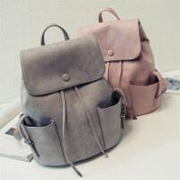 包包新款韩版大容量双肩包女包水桶流苏学生书包休闲旅行背包