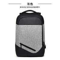 双肩包男商务电脑包15.6寸男包休闲旅行背包韩版学生书包SN5837