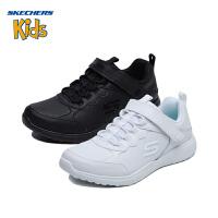 斯凯奇童鞋 (SKECHERS)儿童鞋 学院鞋 魔术贴轻便休闲鞋 男女童运动鞋(4岁―12岁以上)