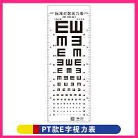 幼儿园学校班级布置眼睛保健操墙贴画标准对数视力表儿童测试挂图