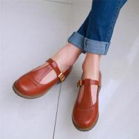 学院风秋款儿童黑色皮鞋初中生小学生少女学生鞋大童女童女孩单鞋SN2812