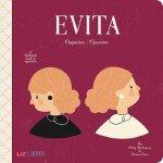 英语西班牙语双语对照 艾薇塔 Evita: Opposites/Opuestos 儿童绘本 贝隆夫人