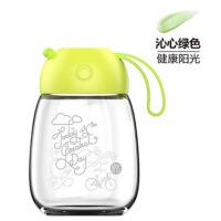 创意玻璃杯女可爱果汁杯花茶杯便携泡茶杯水杯子