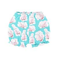 女童棉面包短裤婴儿打底裤子女宝宝灯笼裤小童1-3岁外穿夏薄款