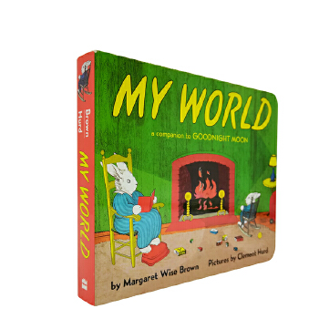 My World Board Book  我的世界 纸板书 [4-8岁]
