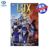 英文原版 英雄联盟官方漫画:勒克斯 League of Legends: Lux 漫威漫画 故事书
