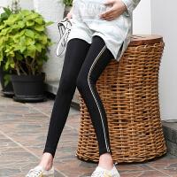 孕妇打底裤春秋韩版长裤秋装托腹显瘦大码新款春季外穿孕妇裤