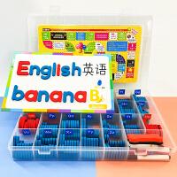 英语单词卡片幼儿启蒙英文字母小学儿童早教学龄前有声点读笔闪卡