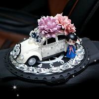 车模摆件可爱卡通装饰品 创意凯蒂猫汽车车载甲壳虫香水座