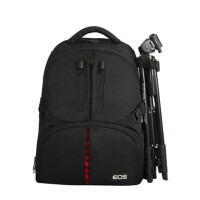 双肩包 佳能EOS 5D2 60D 7D 700D 5D3单反相机双肩背包 佳能加厚版送防雨罩