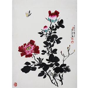 兰高管  《花蝶》  a488