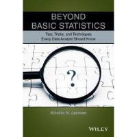 【预订】Beyond Basic Statistics 9781118856116