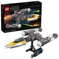 乐高星球大战系列 75181Y-翼星际战机 LEGO 积木玩具