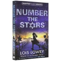 现货英文原版 Number the Stars 数星星 纽伯瑞儿童文学小说 爱与勇气 青少年课外读物