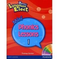 原版培生朗文小学英语教材 Primary Longman Elect Mini Phonics Lessons 1 小学
