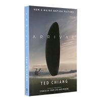 降临 英文原版 Arrival 你一生的故事 科幻大片原著小说 电影封面版 Ted Chiang 特德姜 星云奖 雨果