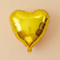 18寸心形32寸心形单色铝膜节庆气球婚庆婚房背景装饰布置气球