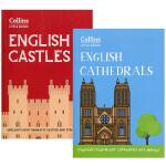 【99任选5】华研原版 英国城堡和大教堂2本套装 英文原版 English Castles English Cathed