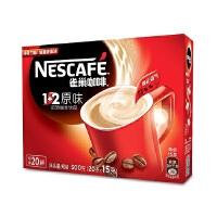 [当当自营] 雀巢咖啡1+2原味20条300g