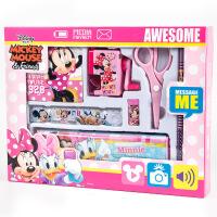 正品迪士尼儿童组合文具套装卡通学习用品礼盒礼品批发学生奖品