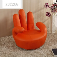 ZUCZUG懒人沙发手指可拆洗可爱单个小沙发布艺创意个性电脑椅子