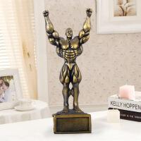 树脂工艺品 运动大力士家居装饰品 奖杯 001111.5*7.5*27.6