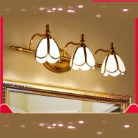 【支持礼品卡】美式led镜前灯卫生间梳妆台镜柜灯欧式浴室灯洗手间镜灯化妆壁灯4ig