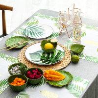 爱屋格林餐具套装陶瓷碗碟盘创意家用组合2人4人6人小清新个性
