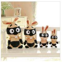 海盗兔子公仔毛绒玩具一件代发批发玩偶爆款海贼兔 包邮
