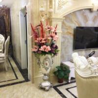欧式树脂落地大花瓶仿真花艺套装插花客厅装饰摆件工艺品家居饰品