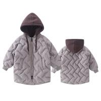 №【2019新款】冬天儿童穿的童装男童羽绒中大童冬装中长款棉衣儿童洋气棉袄外套