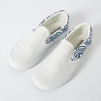 【1件3折价:50.7,可叠券】美特斯邦威懒人鞋女士夏季韩版时尚潮流学生水火休闲鞋子