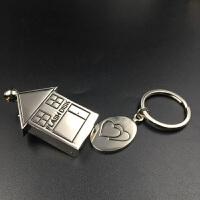 金属u盘16g 创意房子礼品可爱优盘个性宣传刻字定做logo包邮