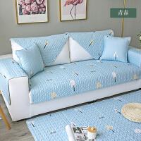 沙发垫布艺四季通用现代简约北欧防滑田园皮沙发坐垫套巾定制!