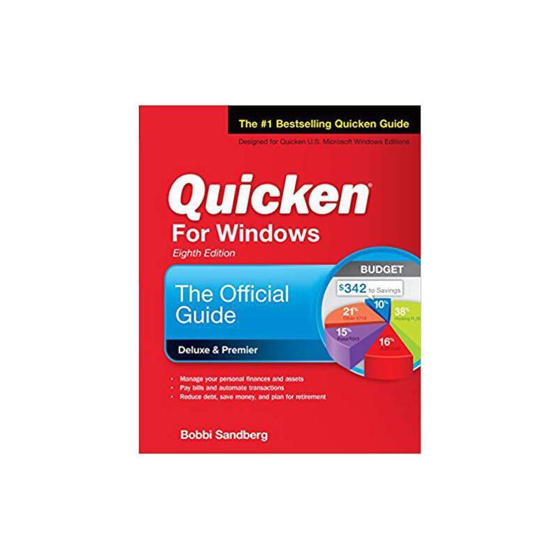 【预订】Quicken for Windows: The Official Guide, Eighth Edition 9781260117301 美国库房发货,通常付款后3-5周到货!