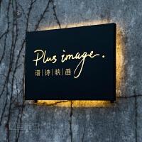 个性背光招牌 镂空灯箱 LED广告牌发光招牌制作 定做创意招牌 字