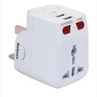 多国通用usb转换插头英标泰国美国欧洲标香港日本电源插座转换器