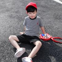 男童夏装新款套装夏季童装儿童中大童帅气洋气男孩潮衣