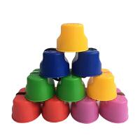 幼儿园高跷儿童平衡感统训练器材笑脸踩高跷户外体育玩具体育器械