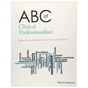 【预订】Abc Of Clinical Professionalism 9781119266662 美国库房发货,通常付款后3-5周到货!