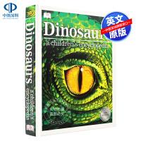 DK儿童图解百科全书系列:恐龙 英文原版Dinosaurs A Children's Encyclopedia DK出版