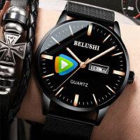 2018新款手表男学生男士手表运动石英表防水时尚潮流非机械表男表