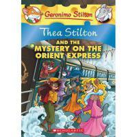 英文原版 老鼠记者之西娅 13:西娅与东方快车之谜 Thea Stilton and the Mystery on th