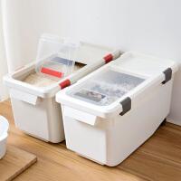 大号防潮装米箱防虫米桶储米箱家用米面大米收纳箱厨房塑料面粉桶